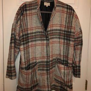 Funky pea coat for fall